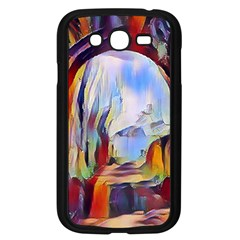Abstract Tunnel Samsung Galaxy Grand Duos I9082 Case (black) by 8fugoso