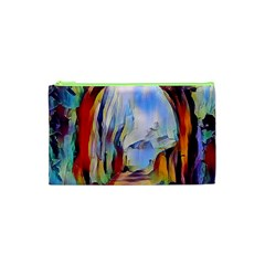 Abstract Tunnel Cosmetic Bag (xs) by 8fugoso