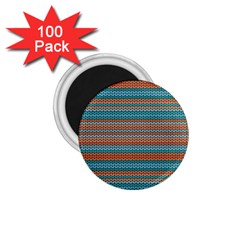 Winter Pattern 1 1 75  Magnets (100 Pack)  by tarastyle