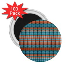 Winter Pattern 1 2 25  Magnets (100 Pack)  by tarastyle