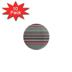 Winter Pattern 3 1  Mini Magnet (10 Pack)  by tarastyle