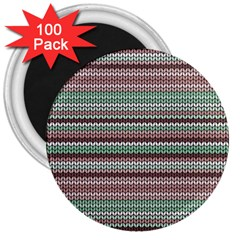 Winter Pattern 3 3  Magnets (100 Pack) by tarastyle