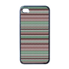 Winter Pattern 3 Apple Iphone 4 Case (black) by tarastyle