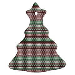 Winter Pattern 3 Christmas Tree Ornament (two Sides) by tarastyle