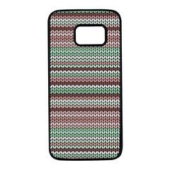 Winter Pattern 3 Samsung Galaxy S7 Black Seamless Case by tarastyle