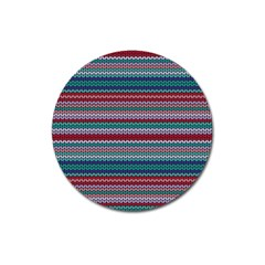 Winter Pattern 4 Magnet 3  (round) by tarastyle