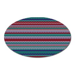 Winter Pattern 4 Oval Magnet by tarastyle