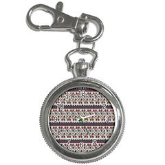 Winter Pattern 5 Key Chain Watches by tarastyle