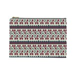 Winter Pattern 5 Cosmetic Bag (Large)  Front