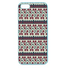 Winter Pattern 5 Apple Seamless Iphone 5 Case (color) by tarastyle
