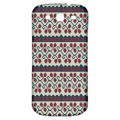 Winter Pattern 5 Samsung Galaxy S3 S Iii Classic Hardshell Back Case by tarastyle