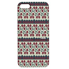 Winter Pattern 5 Apple Iphone 5 Hardshell Case With Stand by tarastyle