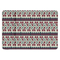 Winter Pattern 5 Samsung Galaxy Tab 8 9  P7300 Flip Case by tarastyle