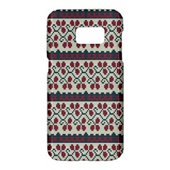 Winter Pattern 5 Samsung Galaxy S7 Hardshell Case