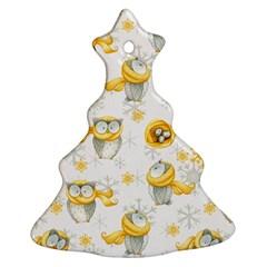 Winter Pattern 6 Ornament (christmas Tree)  by tarastyle