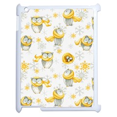 Winter Pattern 6 Apple Ipad 2 Case (white) by tarastyle
