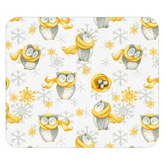 Winter Pattern 6 Double Sided Flano Blanket (small)  by tarastyle
