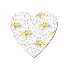 Winter Pattern 7 Heart Magnet by tarastyle