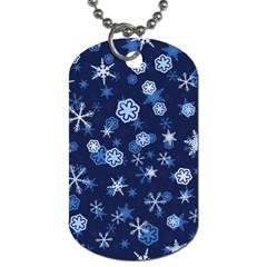 Winter Pattern 8 Dog Tag (two Sides) by tarastyle