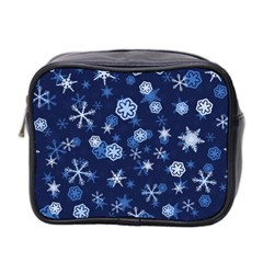 Winter Pattern 8 Mini Toiletries Bag 2 Side by tarastyle