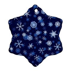 Winter Pattern 8 Ornament (snowflake) by tarastyle