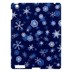 Winter Pattern 8 Apple Ipad 3/4 Hardshell Case by tarastyle