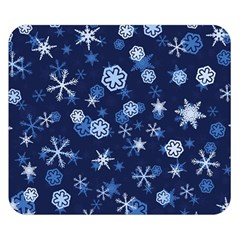 Winter Pattern 8 Double Sided Flano Blanket (small)  by tarastyle
