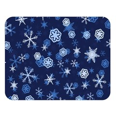 Winter Pattern 8 Double Sided Flano Blanket (large)  by tarastyle