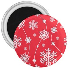 Winter Pattern 9 3  Magnets by tarastyle