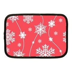 Winter Pattern 9 Netbook Case (medium)  by tarastyle