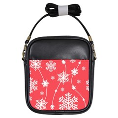 Winter Pattern 9 Girls Sling Bags by tarastyle