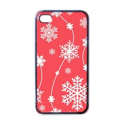 Winter Pattern 9 Apple Iphone 4 Case (black) by tarastyle