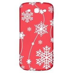 Winter Pattern 9 Samsung Galaxy S3 S Iii Classic Hardshell Back Case by tarastyle