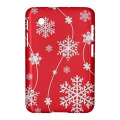 Winter Pattern 9 Samsung Galaxy Tab 2 (7 ) P3100 Hardshell Case  by tarastyle