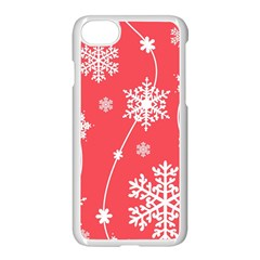 Winter Pattern 9 Apple Iphone 7 Seamless Case (white) by tarastyle