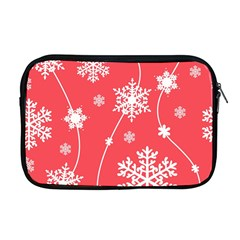 Winter Pattern 9 Apple Macbook Pro 17  Zipper Case by tarastyle