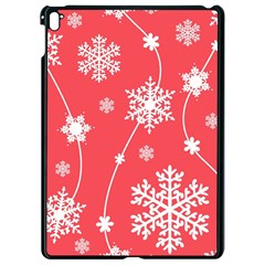 Winter Pattern 9 Apple Ipad Pro 9 7   Black Seamless Case by tarastyle