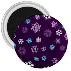 Winter Pattern 10 3  Magnets by tarastyle