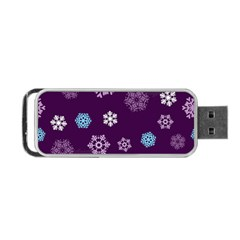 Winter Pattern 10 Portable Usb Flash (two Sides) by tarastyle
