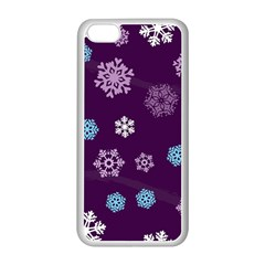 Winter Pattern 10 Apple Iphone 5c Seamless Case (white) by tarastyle