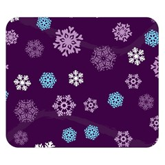Winter Pattern 10 Double Sided Flano Blanket (small)  by tarastyle