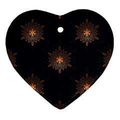 Winter Pattern 11 Ornament (heart) by tarastyle