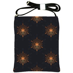 Winter Pattern 11 Shoulder Sling Bags by tarastyle