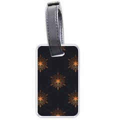 Winter Pattern 11 Luggage Tags (one Side)  by tarastyle