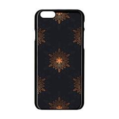 Winter Pattern 11 Apple Iphone 6/6s Black Enamel Case by tarastyle