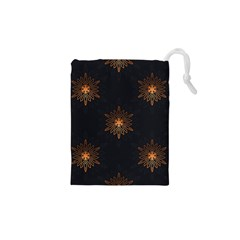 Winter Pattern 11 Drawstring Pouches (xs)  by tarastyle