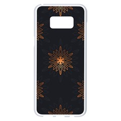Winter Pattern 11 Samsung Galaxy S8 Plus White Seamless Case by tarastyle