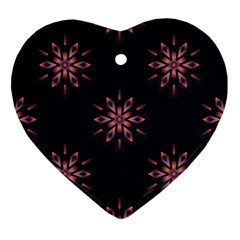 Winter Pattern 12 Ornament (heart) by tarastyle