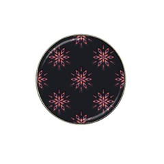 Winter Pattern 12 Hat Clip Ball Marker (4 Pack) by tarastyle