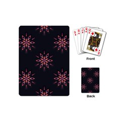Winter Pattern 12 Playing Cards (mini)  by tarastyle
